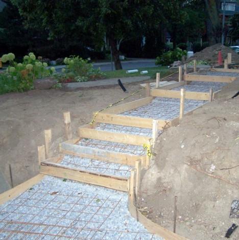 Hardscaping masonry for Hardscape concrete