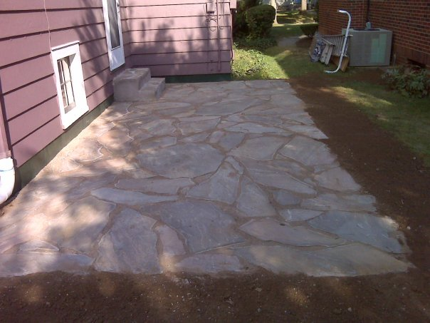 Pin natural stone patios in kent and london indian - Natural stone patio images ...